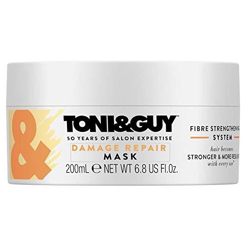 Toni&Guy Damage Repair Mask I Reparatur Haar-Maske für trockenes Haar I Reparierende Haar-Maske für intensive Haar-Pflege & Tiefenreparatur I Haar-Kur für alle Haarfarben & alle Haartypen I 200 ml