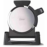 Oster Titanium-Infused DuraCeramic Waffle Maker (Black)