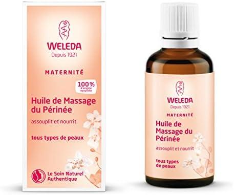 Aceite para Masaje Perineal, prepara al Parto - Weleda (50 ml) - Se envía con: muestra gratis y una tarjeta superbonita que puedes usar como marca-páginas!