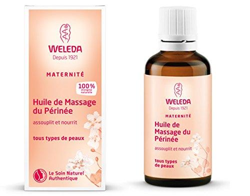 Huile de massage périnéale, préparation à l'accouchement - Weleda (50 ml) - Vous envoyez avec: un échantillon gratuit et une très jolie mini carte que vous pouvez utiliser comme signet!