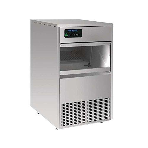 Polar Bullet macchina del ghiaccio 50kg/24h in acciaio INOX macchina ristoranti