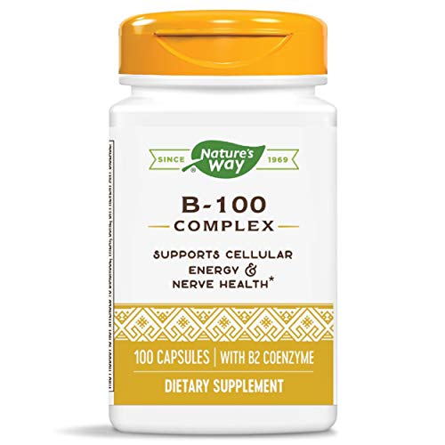 Nature's Way, B-100 Complex, With B2 Coenzyme, x100caps