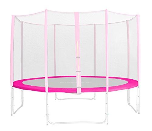 SixBros. Randabdeckung Pink für Gartentrampolin 1,85 M - 4,60 M - Ersatzteil Federabdeckung PVC - RA-1956 - Größe 4,30 m 5L