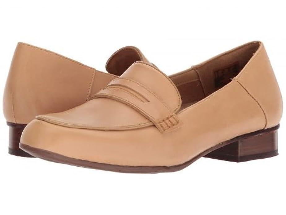ホバート聞きます泥沼Clarks(クラークス) レディース 女性用 シューズ 靴 ローファー ボートシューズ Keesha Cora - Light Tan Leather [並行輸入品]