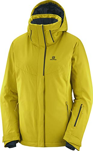 SALOMON Damen Stormpunch Jacke W, Damen, Stormpunch Jkt W, Golden PA, Medium