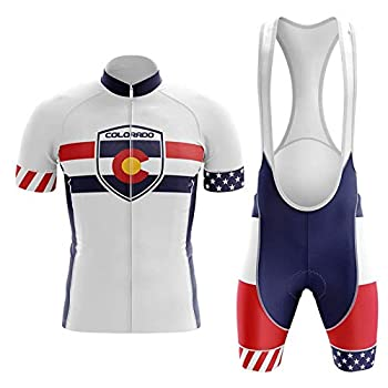 Colorado Cycling Jersey Set Summer Cycling Wear Mountain Bike Clothes Bicycle Clothing MTB Bike Cycling Clothing Cycling Suit