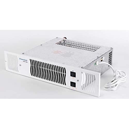 41j1MGxYeHL. SS500  - Diamond 500 Central Heating Kitchen Plinth Heater: White Grille Under Cupboard Heater