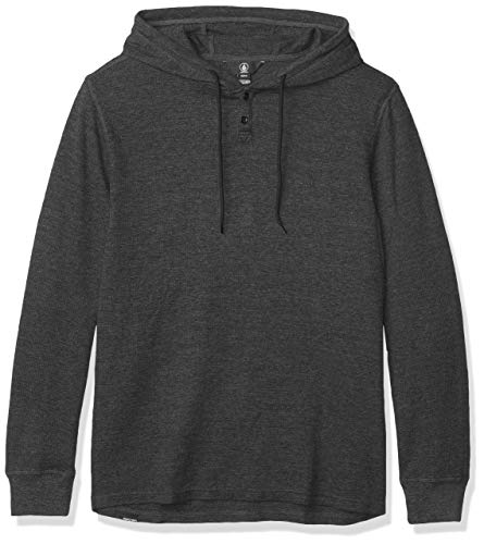 Volcom Men#039s Murphy Thermal Shirt Black Medium