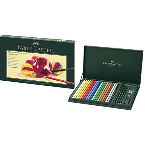 Faber-Castell lápices de colores Set de, Polychromos estuche de regalo