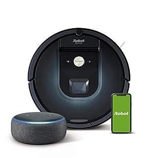 iRobot Roomba 981 Robot aspirapolvere WiFi, 2 spazzole in gomma multi-superficie, app programmabile + Echo Dot (3ª generazione) Altoparlante intelligente con integrazione Alexa, Tessuto antracite (B08KFXRXSW)   Amazon price tracker / tracking, Amazon price history charts, Amazon price watches, Amazon price drop alerts