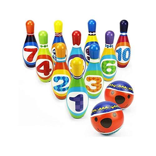 KITI KITS Colourful Soft Bowling Set (Multicolour)