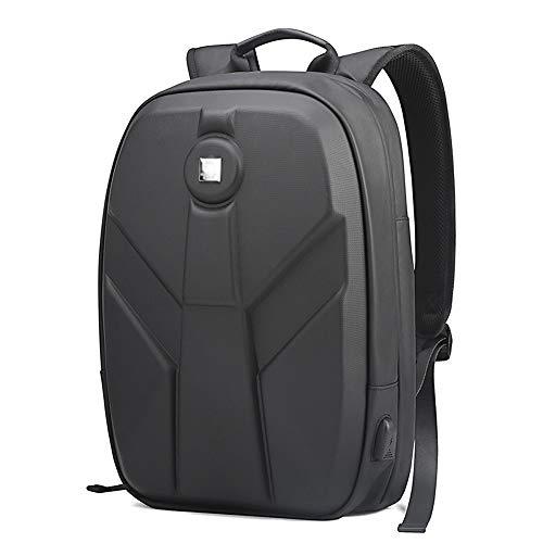 Mochila Portátil para Hombres Bolsa De Carga USB Impermeable De Viaje para Adolescentes Mochila Mochilas (CK Material)