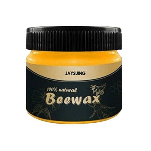 Whitegeese Condimento de Madera Beewax Solución Completa Cuidado de Muebles Beewax Limpieza del hogar
