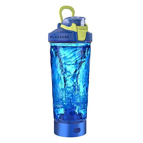 Blackube Elektrischer Shaker Protein Shaker BPA frei Tritan Trinkflasche 600ml Portable Electric Vortex Mixer USB-Aufladung Rechargeable Electric Blender