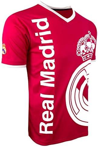 Rhinox Real Madrid Soccer Shirt Pink Color Licensed Real Madrid T Shirt Medium product image