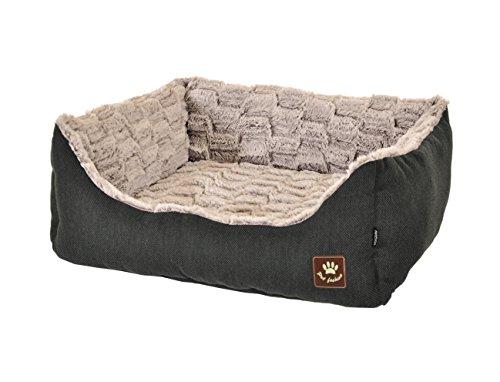 VADIGRAN Cesta Asma para Perro Antracita/Gris 60 x 48 cm