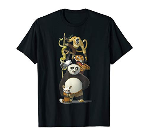 Kung Fu Panda Po And The Furious Five...