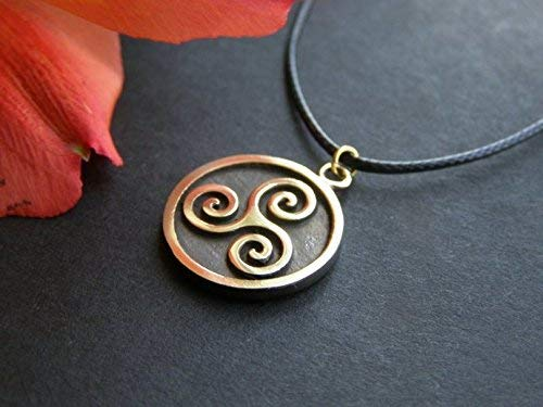 Celtic Triskelion Triskele Spiral of Life Pendant
