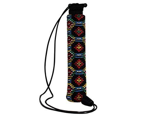 Plan B Funda Protectora vapeador Myblu Maya - 12 X 2,8 cm cordón de 100 cm Multicolor Hecha a Mano en España