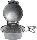 Waffle Cono Maker Waffle Maker Máquina Máquina Máquina de huevo Rollo Hecho en casa Máquina de cono de helado Waffle Irons-Black 26x20x10cm (10x8x4inch)