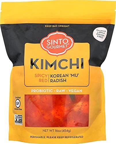 Sinto Gourmet Spicy Radish Kimchi (Pack of 2)
