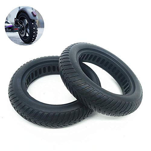 YXZQ Tires, 8.5 inch Solid Explosion-Proof Tires, 8 1/2X2 Hollow Shock-Absorbing Non-Slip Tires, Suitable for Pro Scooter tire Accessories
