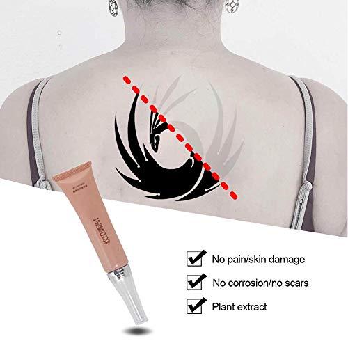 Easy-topbuy Crème Détatouage Fade The Itch Tattoo, Soins De Suivi Tatouage Reviver Ingrédients Naturels Actifs sans Douleur Sûr 14X5cm
