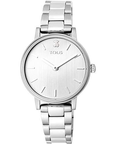 TOUS Reloj Mujer Rond Straight SS ESF Silver Brazalete- Ref 100350465