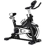 Bicicleta Ritmo Cardíaco Fitness Estacionario Ciclo Entrenador Indoor Ciclismo...