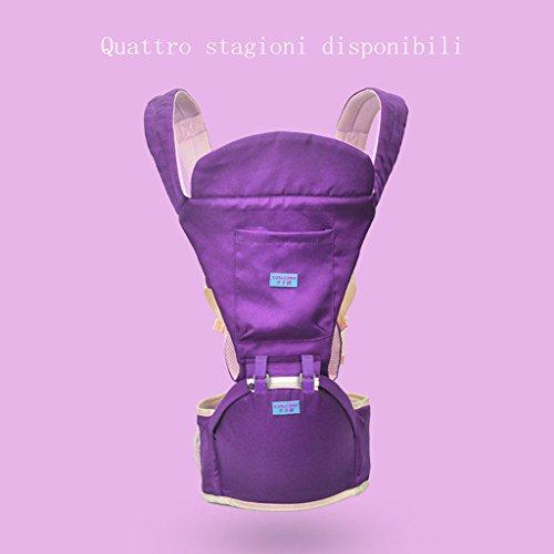 LLN Baby Carrier Ergonomics 4 In 1 Atmungsaktive Babytragegurte Baby Four Seasons Universalgurte Für Neugeborene Kleinkinder,G