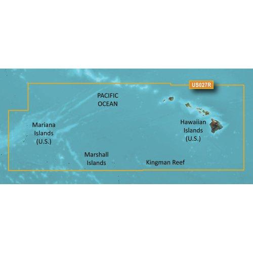 GARMIN BLUECHART G2 HXUS027R HAWAIIAN ISLANDS - MARIANA