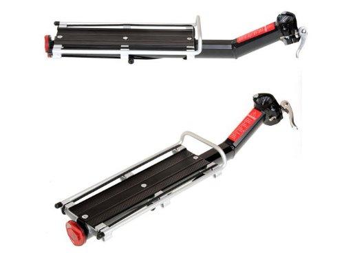Tront Aluminium Fahrrad Gepäckträger für Mountainbike mit Schutzbleche Fahrradgepäckträger für MTB Fahrrad Gepäckträger