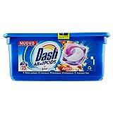 Dash Allin1 Pods Detergente para lavadora, ámbar, paquete de 25 unidades