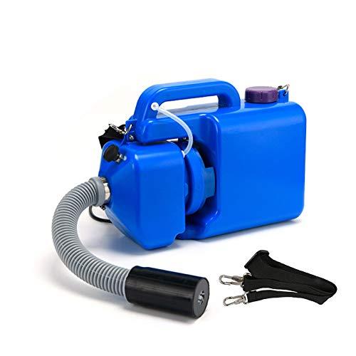 TZUTOGETHER 8L pulverizador eléctrico ulv portátil, 220V Gran Capacidad, Inteligente ULV Fogger Sprays con Manguera Comercial extendida, para Lugares públicos/jardín/Industrial