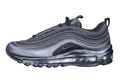 Nike Air MAX 97, Zapatillas de Gimnasia Hombre, Negro (Blackanthracitemtlc Hematitedark Grey 005), 38.5 EU