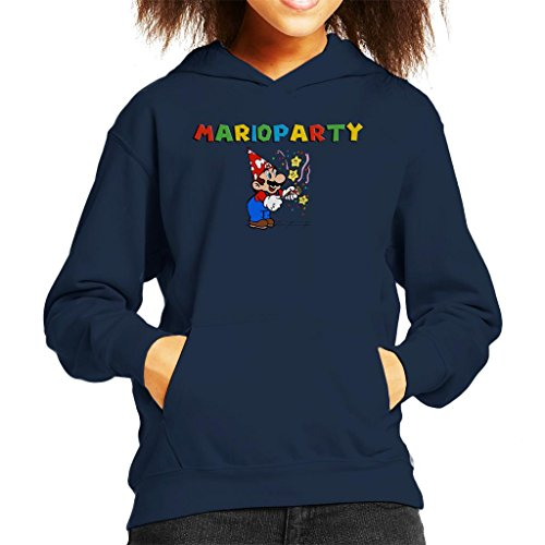 Cloud City 7 Super Mario Party Popper Kid's Hooded Sweatshirt