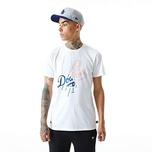 New Era - MLB Los Angeles Dodgers Split Graphic T-Shirt - Weiß Farbe Weiß, Größe M