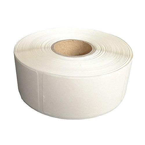 L LIKED 食品保存ラベル 冷蔵用ステッカー 水溶性の紙 溶解ラベル空白 手書き 剥がせる メイソンジャー/ガラス/カップ/ボトルに対応 500枚入り ホワイト