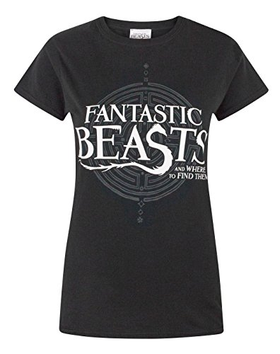 Fantastic Beasts And Where To Find Them Logo Womens T Shirt XXL