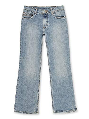 Wrangler Boys' Boot Cut Jean, Stonewash Indigo, 4
