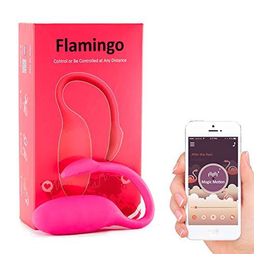 5. Huevo vibrador con App Magic Motion Flamingo