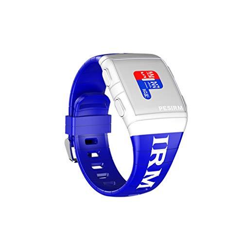 Elektronisch horloge, heren dames fashion design siliconen riem horloge hoge kwaliteit horloge Evansamp