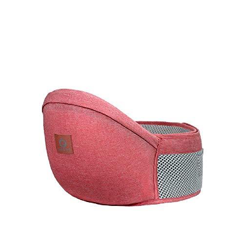 DERALIN Babygeschirr Hüfthocker Hüftsicherheitssitz OneSize/pink