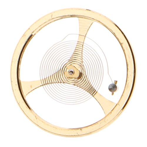 Retro Gold Metal Komplettrad Für Uhr 46941 46943 Uhrwerk Teil