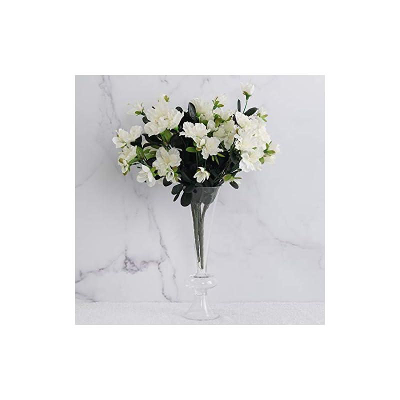 silk flower arrangements efavormart 120 pcs artificial gardenias flowers for diy wedding bouquets centerpieces arrangements party home decoration - cream