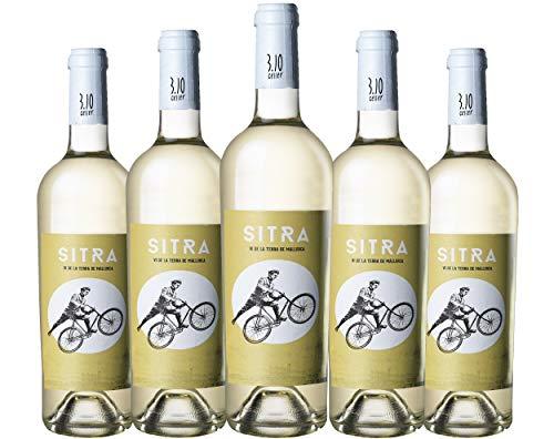 SITRA 2019 - Vino Blanco Seco Ecológico. Marca 3.10 Celler. Variedades : Chardonnay, Giró y Sauvignon Blanc. Pack de 6 botellas