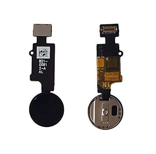 LIVHO® Boton Home Bluetooth 2° Generación Compatible con iPhone 7, 7 Plus, 8, 8 Plus - Color Negro