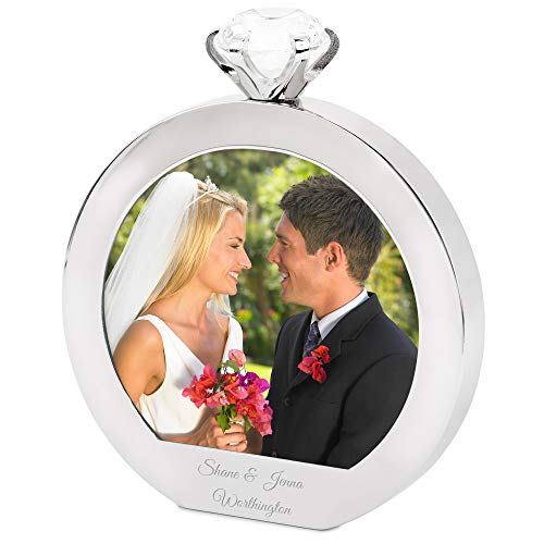 Personalized Diamond Ring Frame (Free Engraving) -Things Remembered