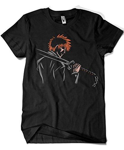 Camisetas La Colmena 1579-Camiseta Bleach - Ichigo (Legendary P,)