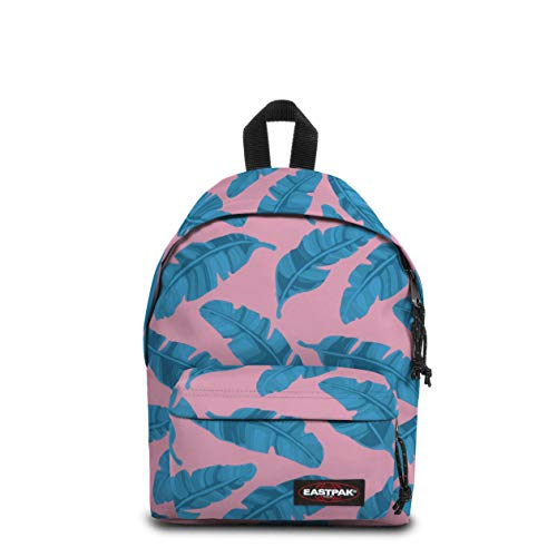 Eastpak Orbit Mini Rucksack, 34 cm, 10 L, Rosa (Brize Leaves Pink)